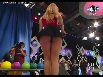 Melina Marin big booty upskirt video