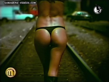 Dolores Trull hot ass in thong damageinc video