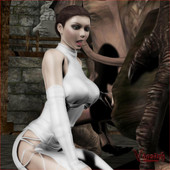 vaesark - Princess Padme and the Rancors