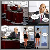 Blackon White 3D comics collection