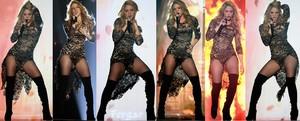 Shakira Video Minivestido Medias Rejilla Con Botas Altas